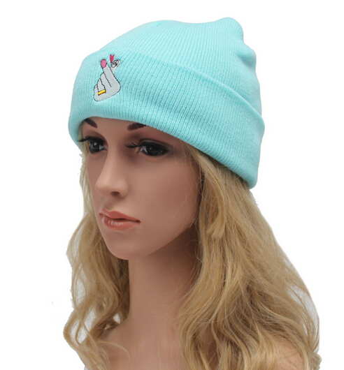 Free Shipping 2016 New Autumn Knit Baggy Beanie Hat Female ...