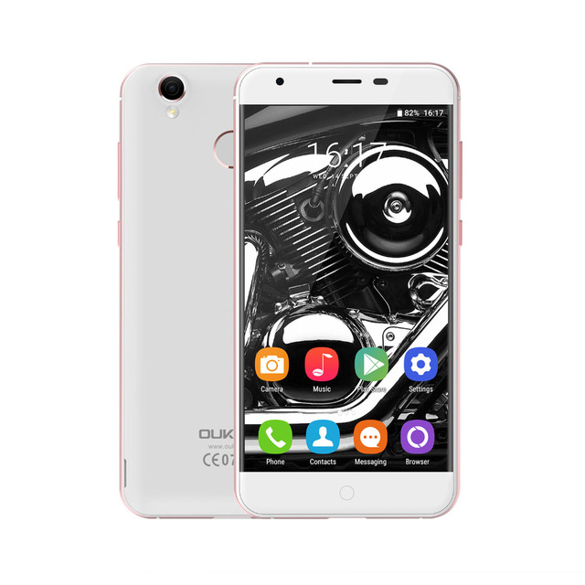 OUKITEL K7000 Original Mobile phone MTK6737 Quad-Core Android 6.0 2GB RAM 16GB ROM 2000mah 5.0 inch 4G LTE TOUCH ID Smartphone