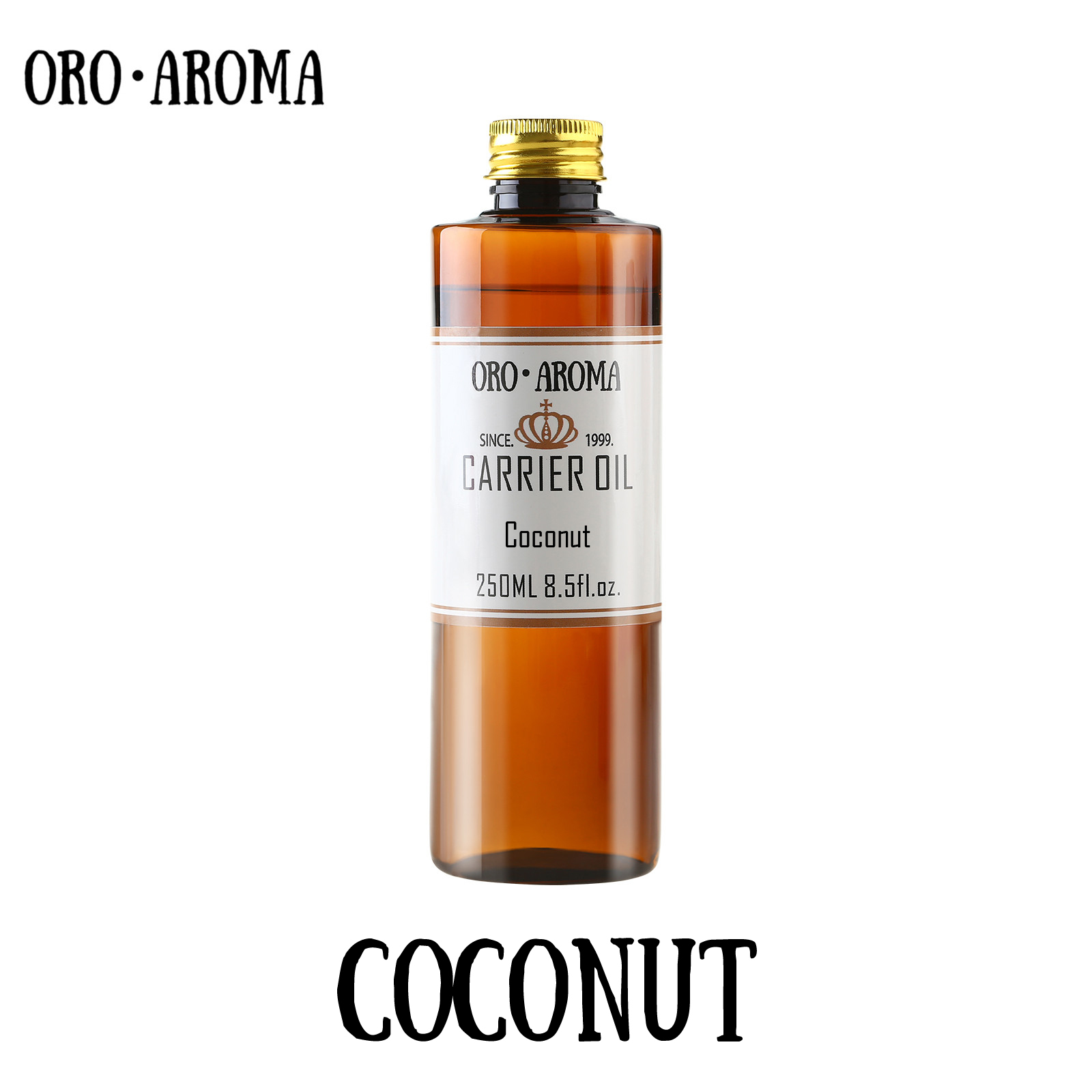 Famous brand oroaroma coconut cocos oil natural aromatherapy high-capacity skin body care massage spa coconut essential oil