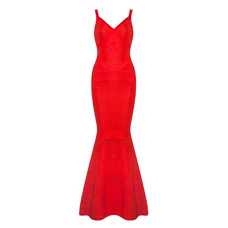 Здесь продается  wholesale  new long dress Red and black V-neck sling Tight sexy Celebrity temperament Cocktail party bandage dress (H1116)  Одежда и аксессуары