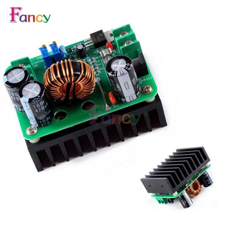 600W Boost Module Power supply DC-DC step up Constant Current Voltage 9v-60V to 12v-80V 48V 72V Booster converter