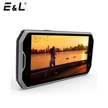 Оригинальный E & L W8 дешевый смартфон Водонепроницаемый ударопрочный телефон 8MP Octa Core Телефон IP68 смартфон 5.5 touch Мобильные телефоны 4 г