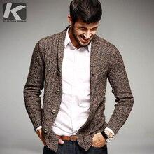 2016 herbst Herrenmode Pullover 100% Baumwolle Strickjacke Stricken Marke Kleidung Mann der Strickwaren Kleidung Sweatercoats