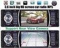 1 DIN autoradio 12 V Coche reproductor de MP3 de Audio de Radio FM Estéreo construido en Bluetooth Teléfono con Puerto USB MMC Car Electronics auto radio
