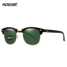 2019 New KDEAM Men Brand Fashion Polarized Sunglasses Womens UV Glasses 6 Colors With Case KD3016