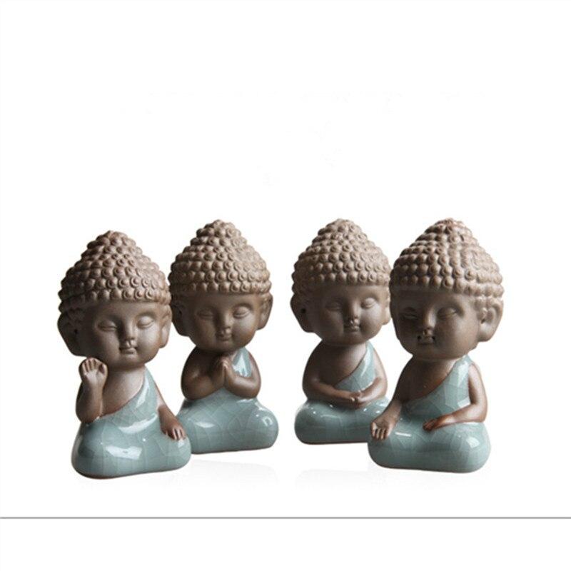 Buddha Statues Tea Pet Ornaments Boutique Decoration