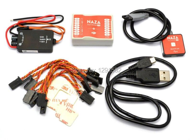 Flight Control Cables : Original naza m lite flight control controller board