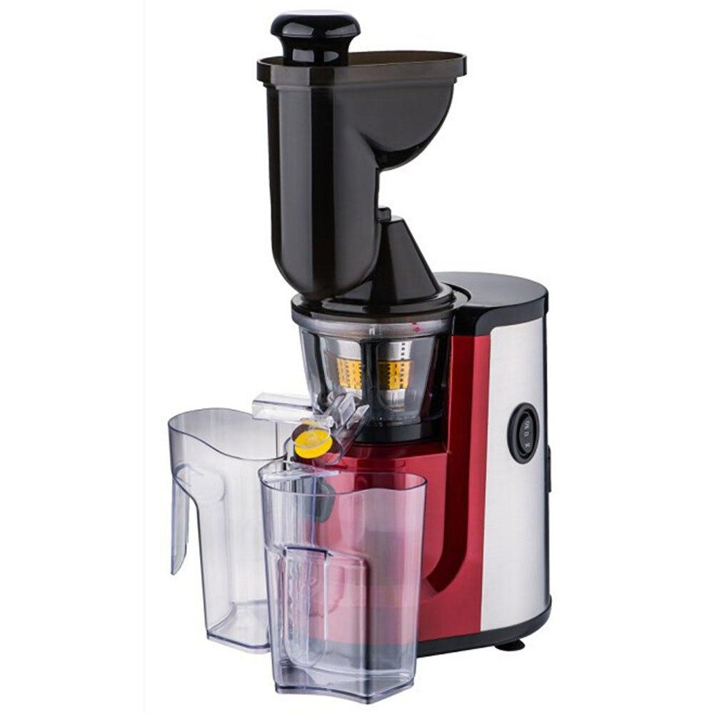 FIMEI 150 Вт 100 240 В медленная широкая подача желоб медленная соковыжималка холодный пресс отжимание сока без окисления для фруктов, овощей, орех