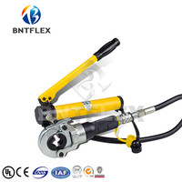 Russian warehouse Hydraulic Pex Pipe Crimping Tools Pressing Tools with Hand Pump