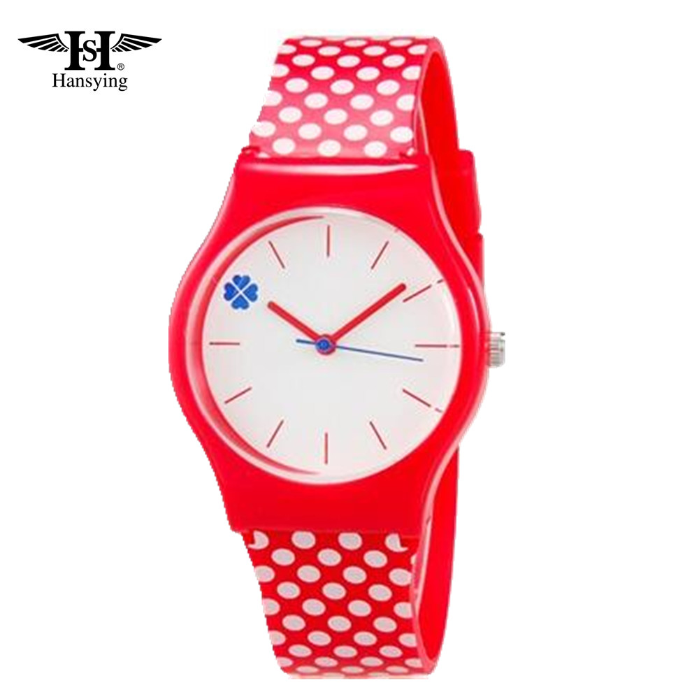Hansying Fashion Boys Meitenes Kids Students Sievietes Cartoon Quartz Waterproof Watch