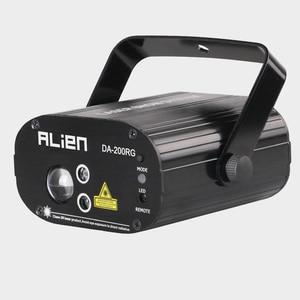Image 2 - Лазерный проектор ALIEN RG Aurora с дистанционным управлением и RGB светодиосветодиодный