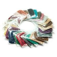 Круглая шелковая нить(яркая) Набор для шитья и вышивки нитью DIY Швейные Инструменты для резьбы аксессуары креативный материал