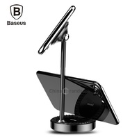 Original Baseus Multi Functional Magnetic Desktop Phone Stand Holder For IPhone Samsung Xiaomi Mobile Phone Tablet