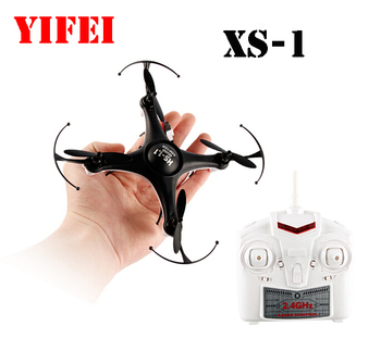 YI FEI XS-1 6-axis 4CH Fixed-Point Revolving 2.4GHz RC Radio Control Minimal Quadcopter Drone RTF