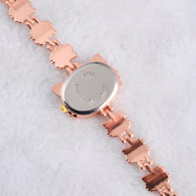Hello Kitty Watch Kids Watches Hello Kitty Children's Watches Cartoon Bracelet Girl Watch Baby Child Clock reloj montre relogio