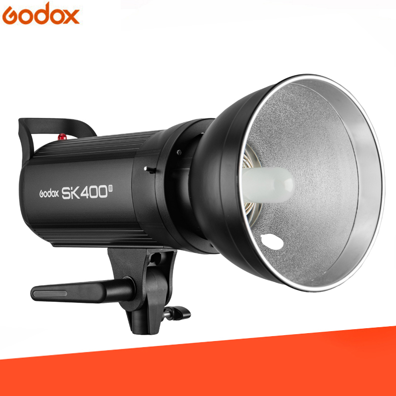 Godox SK400II Professional Compact 400Ws Studio Flash Strobe Light Built in Godox 2.4G Wireless X System GN65 5600K