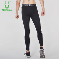 Vansydical Tights Men S Sports Pants Basketball Athletic Training Pants Quick Dry Leggings High Spring Winter