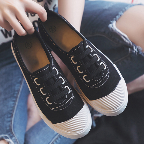 Women Casual Shoes 2019 Spring summer outdoor Sneakers Women Canvas shoes Girl shoes Flats classic white student shoes Islamabad
