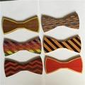 Lazo corbata de lazo para los hombres nuevo color de madera de madera de madera de alta calidad de regalo de madera pajarita mariposa 1 unids
