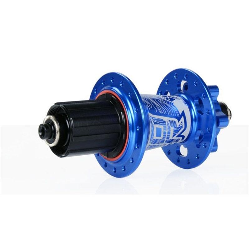 Новый Koozer XM490 уплотненных 4 подшипника MTB втулка для горного велосипеда сзади концентратора 10*135 мм QR 12*142 мм через 32 отверстия велосипед с дис...