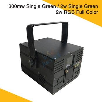 Único Verde ou Grating Animação Full Color Feixe de Luz Laser Efeito de Iluminação de Palco Com Cartão SD