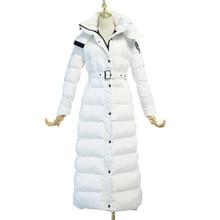 Женская зимняя куртка, длинная парка, Mujer Abrigos,, теплая, плотная, женский, хлопок, капюшон с подкладкой, куртка, manteau femme hiver LX2552