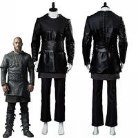 Vikings Ragnar Lothbrok Cosplay Costumes Full Set Adult Men Halloween Carnival Costumes Custom Made