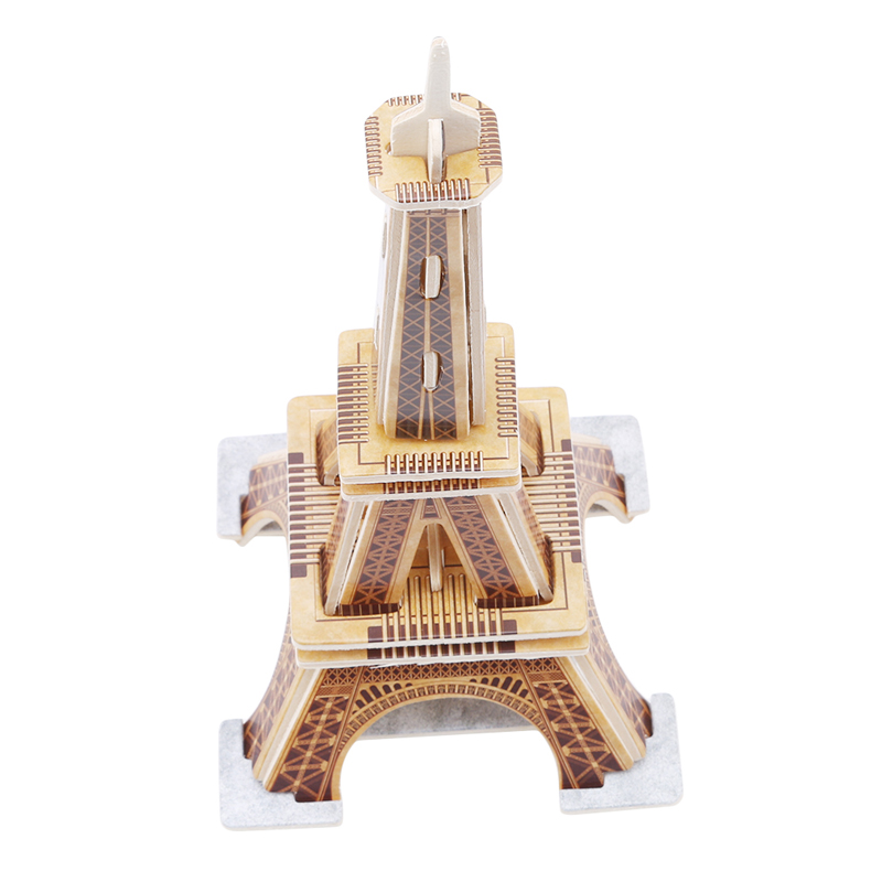 Creative Wooden Puzzle 3D Toy Learning Education Jigsaw Puzzles Wooden Famous Landscape Puzzles Games Popular Toys For Children