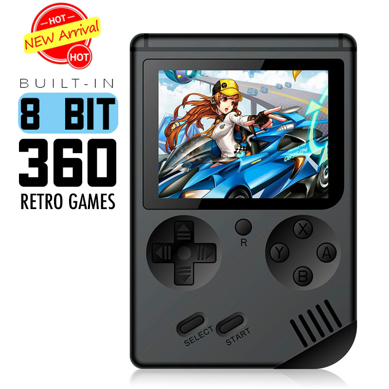 Mini Video Game Console 8 Bit Retro Pocket Handheld Game Player Built-in 168 Classic Games Best Gift for Child Nostalgic Player(China)