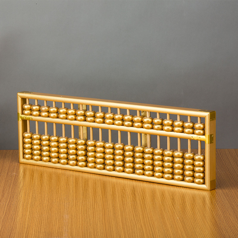 19 COLUMN Gold Chinese abacus sorban high quality for students,teacher ,accountant X14 цены