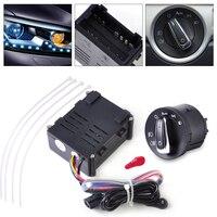 CITALL Auto Headlight Sensor Module Headlamp Switch Control 5ND941431B Fit for VW Golf Jetta 1998 1999 2000 2001 2002 2003 2004