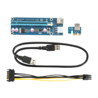 5 Pcs 10 Pcs 15 Pcs PCI E Express USB3 0 1x To16x Extender Riser Card