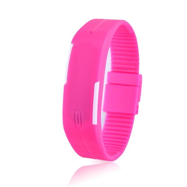 Led watch women sport men's watches relogio feminino erkek kol saati simple watches for men kids running Bracelet clock