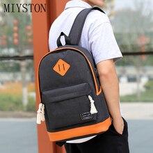 купить Men & Women Backpack Couples Waterproof Canvas Travel Backpack School Bag For Teenagers Girl Shoulder Bag Bagpack Rucksack 2019 по цене 798.51 рублей