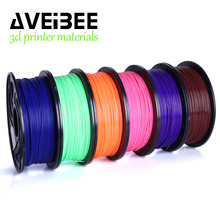 3d Printer PLA Materials 1.75mm Plastic For 3D Printer 1kg/Roll 28 Colors Optional Rubber Consumables Material for Printing цена