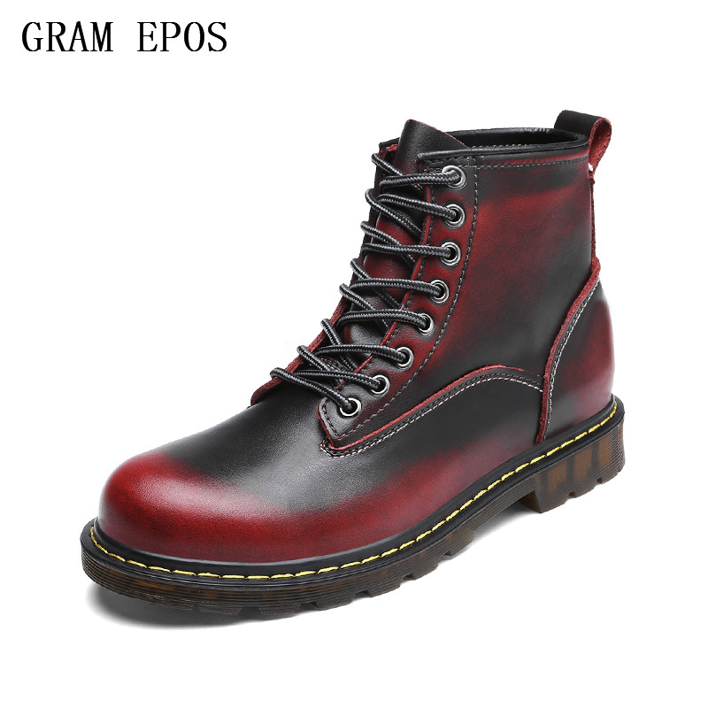 GRAM EPOS New us Military leather boots for men combat bot Infantry tactical boots askeri bot army bots army shoes lovers shoes все цены