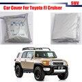Car Cover Sun Shade SUV Outdoor Sun Snow Rain Resistant Protection Anti UV Dustproof Cover For Toyota FJ Cruiser