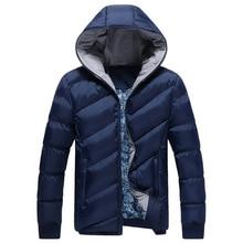 Winterjacke Männer 2016 Marke Parka Männer Kleidung Reißverschluss Baumwolle Gepolsterte Kapuze Dick Wattierte Jacken Mantel Mens Hoodies, YA339