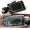 "2.4 ""LCD Música Exibição Espectro Analisador Analisador de ritmo da música MP3 Amplificador PC Indicador de Nível de Áudio"