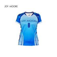 Высокое качество, профессиональный дизайн, женские майки для волейбола, дышащие, Женский волейбол, короткий рукав, тренировочная рубашка