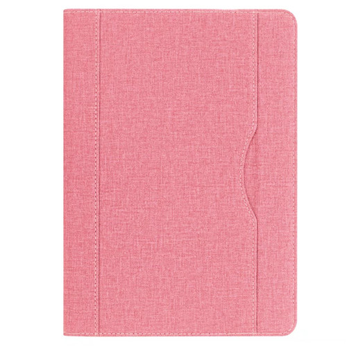 Pink iPad folio case with stand and pen holder