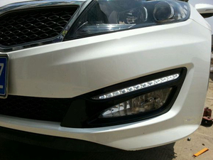 Image 5 - Car Flashing 1Pair DRL For KIA Optima K5 2011 2012 2013 2014 Daytime Running Lights Fog head Lamp cover car styling