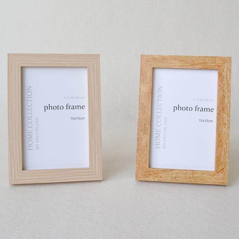 Farben Holz bilderrahmen Bilderrahmen Spiegelrahmen für 6x8 \
