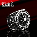 Beier new store 316L Stainless Steel ring top quality Anchor Ring Fashion Jewelry BR8-341