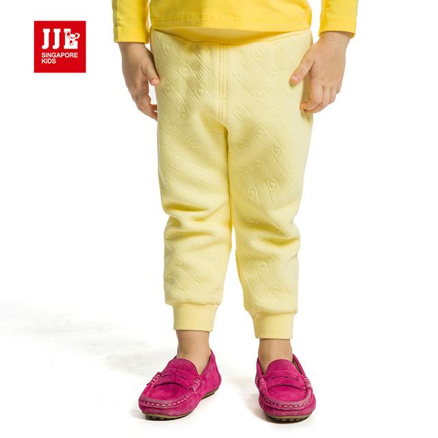 Pantalones del bebé de invierno unisex bebé recién nacido pantalones de longitud completa 100% algodón de la marca bebé pantalones de cintura elástica 2015 de la nueva llegada