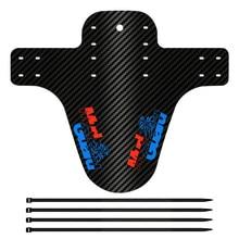 Новейшая Текстура углерода дизайн велосипедные крылья Сверхлегкий передний и задний дорожный MTB велосипед брызговик