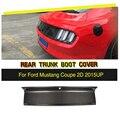 De fibra de carbono coche trasero Spoiler tronco recorte cubierta para Ford Mustang Base Coupe 2015 de 2016