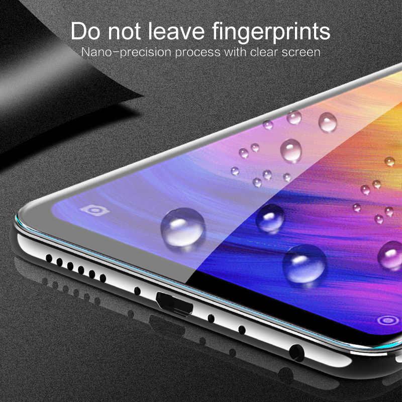 חם HD סרט באיכות גבוהה לנפץ הוכחה Dustproof אנטי-טביעת אצבע מזג זכוכית ברור פרימיום עבור Xiaomiredmi Note7