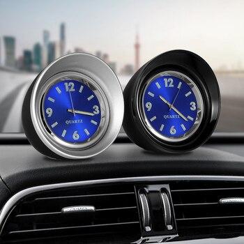 Voiture Ornement Horloge À Quartz Auto Montre Automobiles Intérieur Tableau de Bord Décoration Creative Numérique Pointeur Montres Accessoires Cadeau
