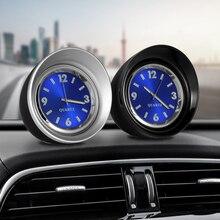 Автомобильный орнамент кварцевые часы авто часы Автомобили Интерьер приборной панели украшения творческий цифровой указатель часы аксессуары подарок